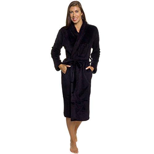 Silver Lilly Womens Robe Bathrobe