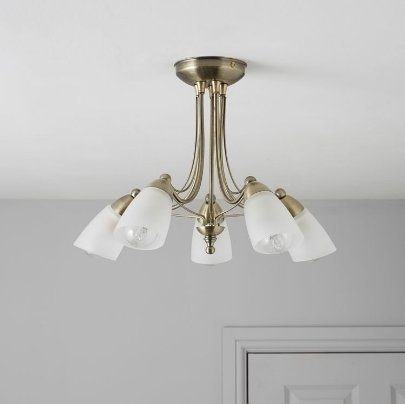hot sale online 4f7c5 728b2 VENUS GOLD 5 LAMP CEILING LIGHT: Amazon.co.uk: Lighting