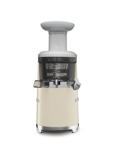 Smeg-SJF01CREU-150W-50s-Retro-Style-Aesthetic-Slow-Juicer-Cream