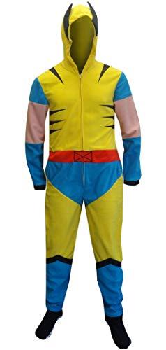 Wolverine Mens Yellow Union Suit - M