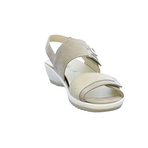 Waldläufer 225006-349 Ginger - Sandalias de Vestir Para Mujer gris