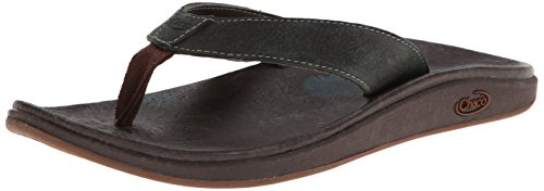 Chaco Womens Leather Flip Sandal - 7