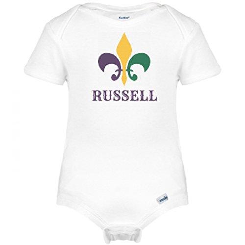 fleur-de-lis-mardi-gras-baby-russell-infant-gerber-onesies