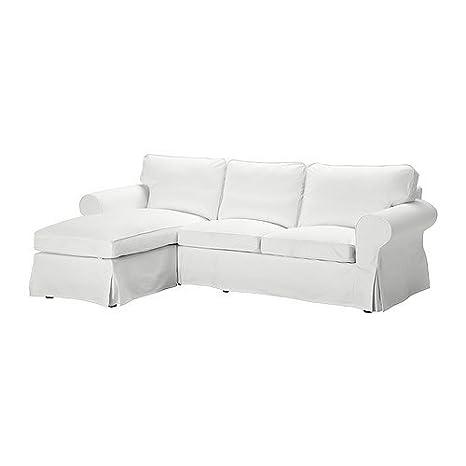 IKEA EKTORP - Cubierta sofá de dos plazas w chaise longue ...