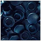 WIDGETCO 3/8'' Black Hole Plugs