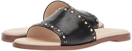 Cole Haan Women's Anica Stud Slide Sandal, Black Leather, 10 B US by Cole Haan (Image #6)
