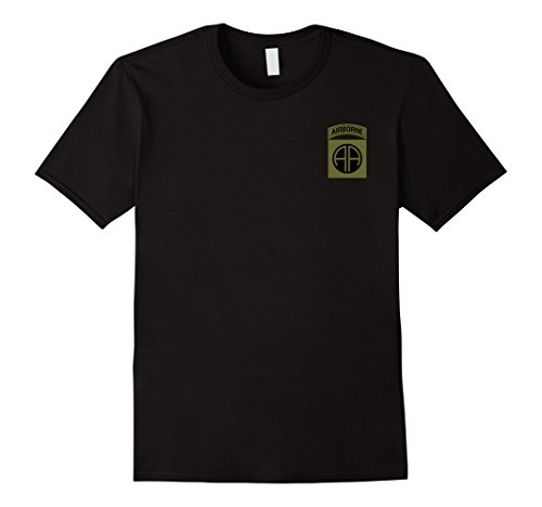 Airborne Military T-shirt (US Army 82nd Airborne Division Military Morale T-Shirt)