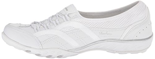 white Trainers 23203 On White Skechers Slip Women''s faqInTU