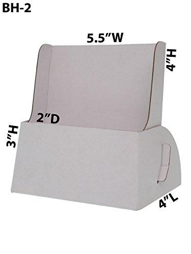 Marketing Holders Lot of 25 Cardboard Booklet Holder Bi Fold Half Page Displays 5 3/4''x 7'' by Marketing Holders