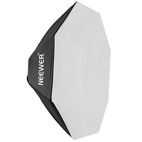 Neewer Photo Studio 60 inches/150 centimeters Octagonal Speedlite Softbox with Speed Ring for Alien Bees Strobe Light B400, B800, B1600, Perfect for Portrait, Product Photography and Video Shooting by Neewer