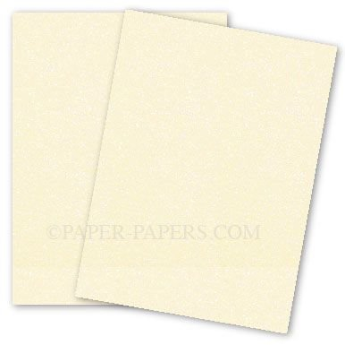 Curious Metallic - POISON IVORY Card Stock - 89lb Cover - 8.5 x 11 - 25 PK Curious Metallics Cover