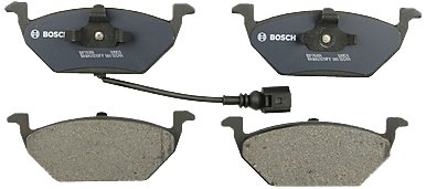 Bosch BP768A QuietCast Premium Semi-Metallic Disc Brake Pad Set For Volkswagen: 2000-2010 Beetle, 2000-2006 Golf, 2007-2010 Golf City, 1999-2005 Jetta, 2007-2009 Jetta City; Front (2004 Jetta Front Brake Pads)