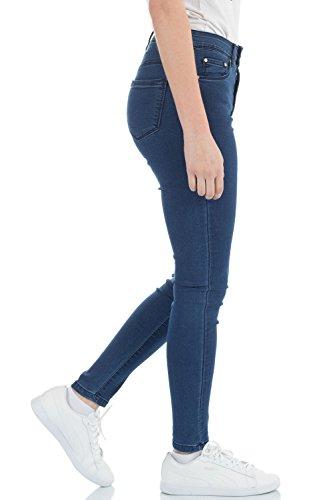 Vaqueros Mujer para malucas Skinny Azul AqZZT