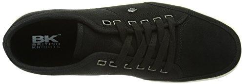 British Knights POKA LO - Zapatillas de material sintético para hombre negro - Schwarz (Black03)