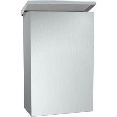 - Surface Mounted Sanitary Napkin Disposal with Utility Shelf
