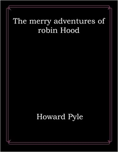 Book The merry adventures of robin Hood