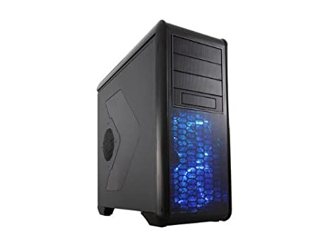 Rosewill Gaming ATX Mid Tower Computer Case Cases Blackhawk Black