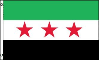 Amazoncom Syrian Revolution Flag X Feet Syria Outdoor Flags - Syria flag