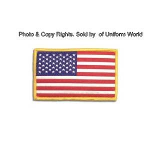Security Uniform Patches (American Flag Patch - Standard - 2 x 3