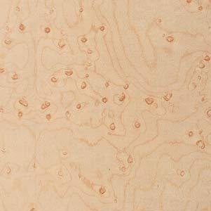 Wood Veneer, Maple, Birdseye Heavy, 2 x 8, 10 mil Paper (Birdseye Maple Cabinets)