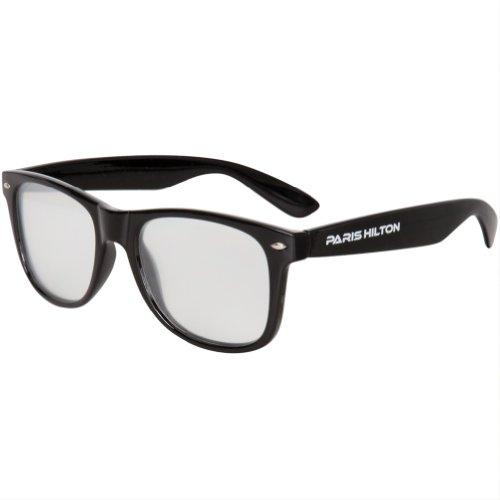Paris Hilton - Diffraction Lense Black Sunglasses - - Hilton Paris Sunglasses