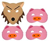 Story Telling Play Masks - Three Little Pigs