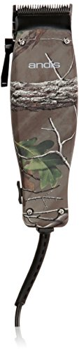 - Andis 19-Piece At Home Hair Clipper Haircutting Kit, Camo, Models MC-2 (18665)