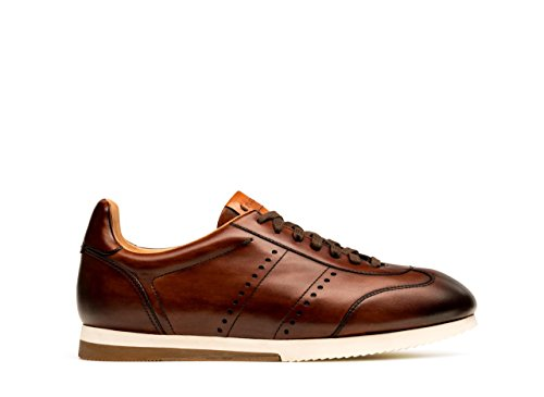 Magnanni Heren Isco Fashion Sneaker Mid-brown