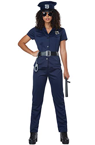 California Costumes Women's Police Woman - Adult Costume Adult Costume, -Navy, Extra Small -