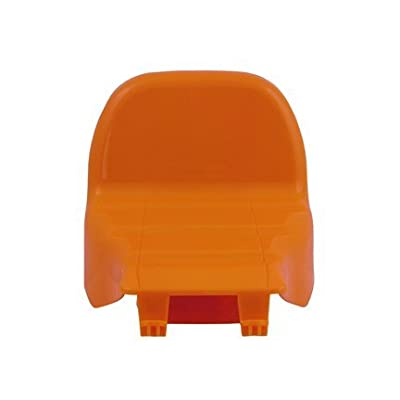 Fisher-Price Replacement Seat for Trike - Orange - Fits Many Models: Toys & Games