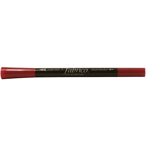 Fabrico Marker Color-Fast, Burgundy (Fabrico Fabric Marker)