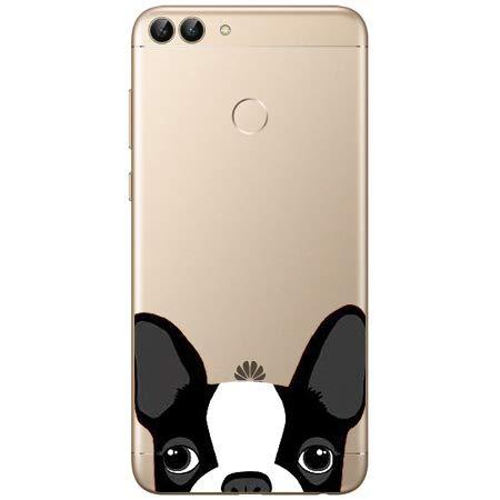 Novago Compatible avec Huawei P Smart Pack de 3 Coques Souples Transparentes et r/ésistantes Anti Choc avec Impression de qualit/é Multicolore 2