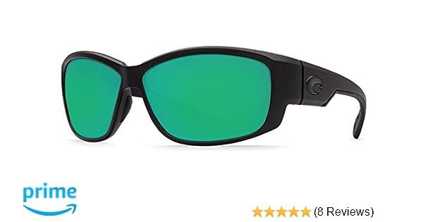 af64d58d9cf8 Amazon.com: Costa Del Mar Luke Sunglasses, Blackout, Green Mirror 580G  Lens: Shoes