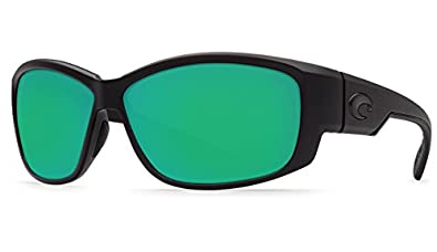 451fa47060c9 Amazon.com: Costa Del Mar Luke Sunglasses, Blackout, Green Mirror ...