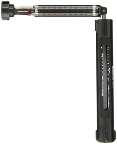 - Bacharach 0012-7012 Red Spirit Filled Sling Psychrometer, 25° F to 120° F