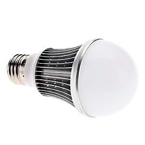 Reaiers E27 5W 500-550LM 6000-6500K Natural White Light LED Ball Bulb (85-265V)