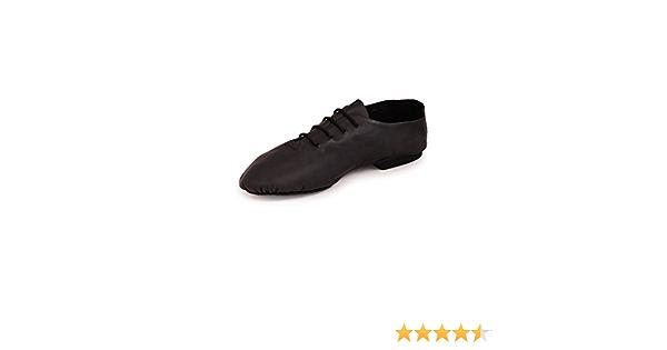 Roch Valley Leather Split Sole Jazz Shoes Damen Jazz-Schuhe aus Leder mit geteilter Sohle.