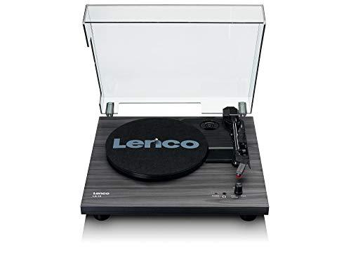 Lenco Draaitafel LS-10 – draaitafel met geïntegreerde luidsprekers – zwart