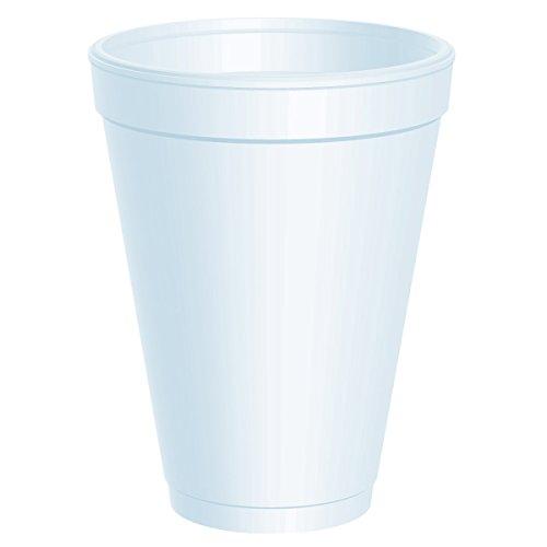 DTM12J12 - Dart Disposable Styrofoam Drinking Cups,White,12.000 OZ