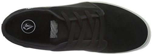 Nero Scarpe Da schwarz Ginnastica Grimm Shoe 2 Black Volcom Uomo black On wqRp0C