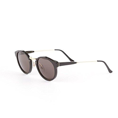 Super Panama Black Sunglasses by RETROSUPERFUTURE PMK Black Zeiss - Panama Sunglasses Super
