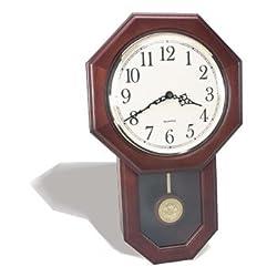 Texas Christian TCU Horned Frogs Pendulum Wall Clock