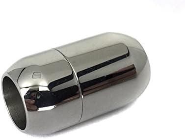 Edelstahlverschuss 1 St/ück Magnetverschluss mit 8mm Einklebefl/äche