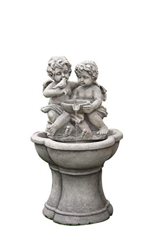 (Jeco Cherub Water Fountain with LED)