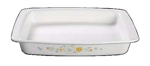 Corning Ware Floral Bouquet Rectangular Roaster ( 13 5/8 inch ) ( P-332 )