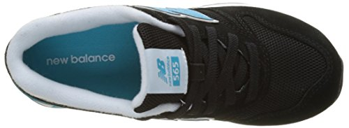 Multicolore Basses Sneakers Balance Black Sneakers Turquoise 565 565 Femme New New Balance zCwqBC0