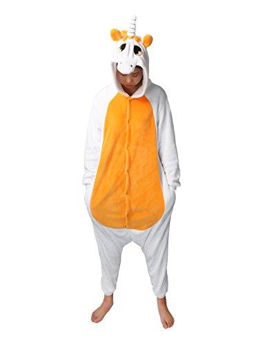 Carnevale Pin costumi Jumpsuit di animale pigiama Einhorn in Halloween Jumpsuit LATH pile Orange Lounge adulti Unisex cartone pigiama tuta xXnpWdqq4