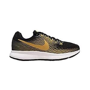 Best Epic Trends 31TNOsbf4pL._SS300_ Nike WMNS Air Zoom Pegasus 34 880560-009 Black/Metallic Gold Women's Running Shoes