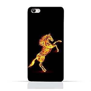 AMC Design Horse on Flame Printed Protective Case for Vivo X7 Plus - Multi Color