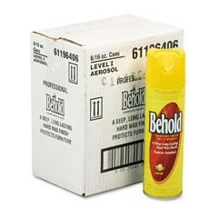 - Professional Behold Furniture Polish, 6 16oz Aerosol Cans/ctn